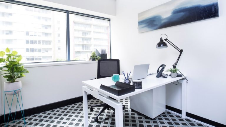 Suite 614 for lease at St Kilda Rd Towers