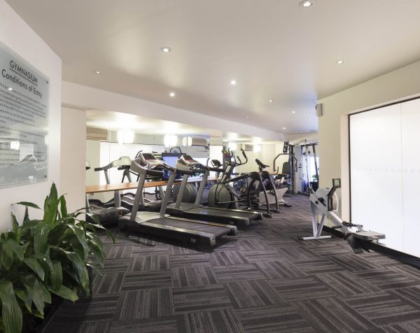 Gym at Exchange Tower serviced offices Melbourne