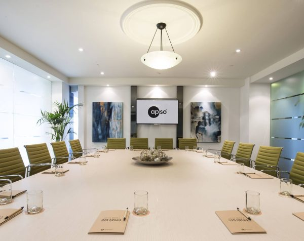 Boardroom hire at St Kilda Road Towers serviced offices Melbourne