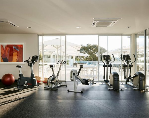 Gym at The Watson serviced offices Adelaide