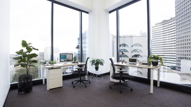 Large office at St Kilda Rd Towers