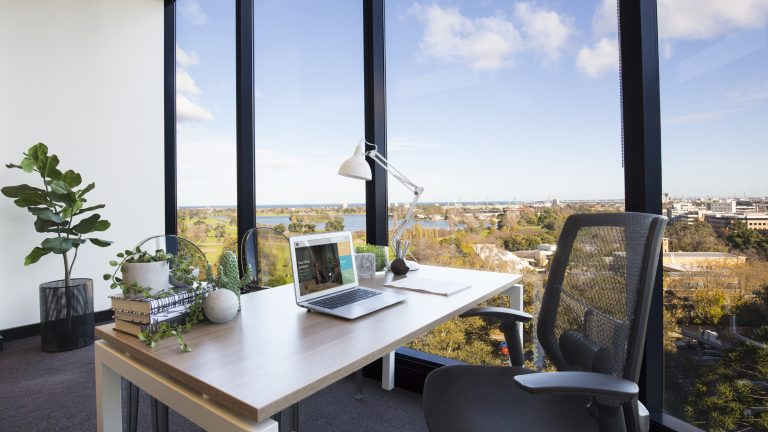 Suite 811 for lease at St Kilda Rd Towers